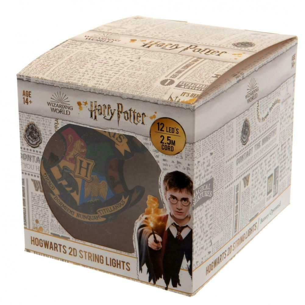 Hogwarts Harry Potter 2D String Light