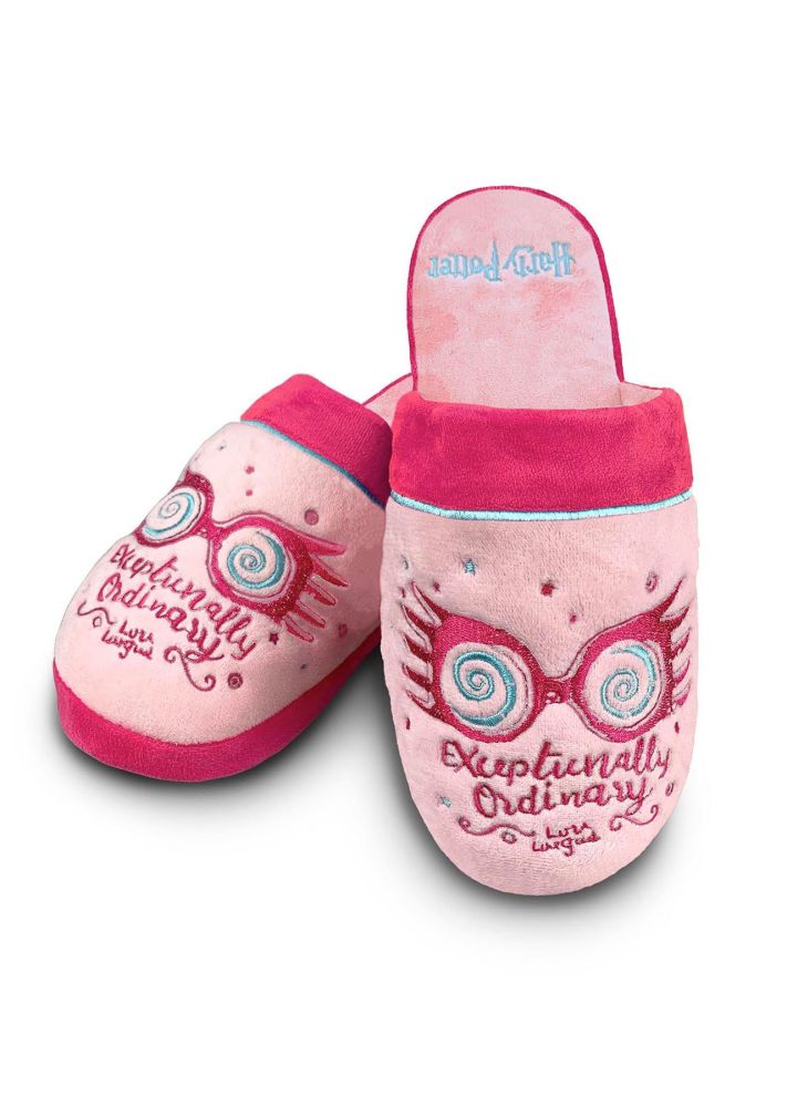 Harry Potter - Luna Lovegood Slippers for Adults Size 5-7