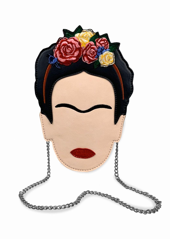 Frida Kahlo Head Mini Cross Body Bag