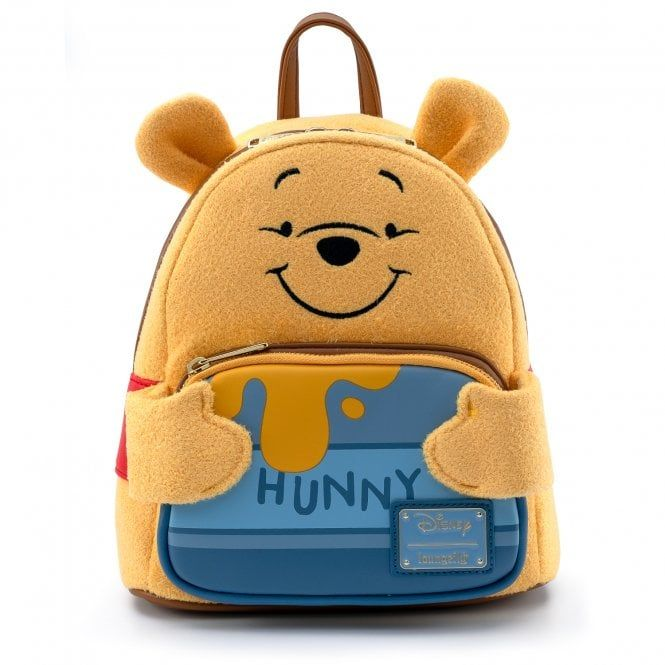 Winnie Pooh Hunny Tummy - Loungefly Mini Backpack