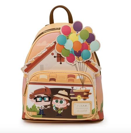 Up Working Buddies Loungefly Pixar Mini Backpack Bag