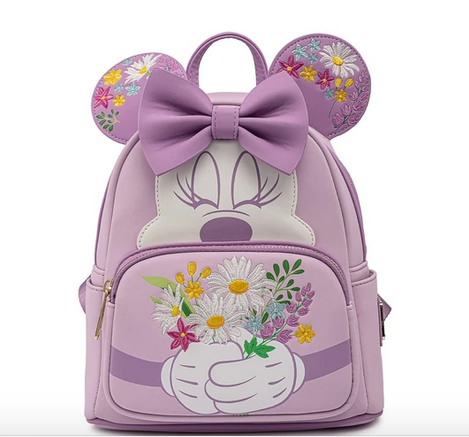 Minnie Mouse Flowers Loungefly Disney Mini Backpack Bag