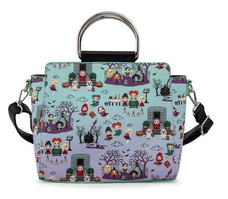 Hocus Pocus AOP Loungefly Disney Crossbody Bag