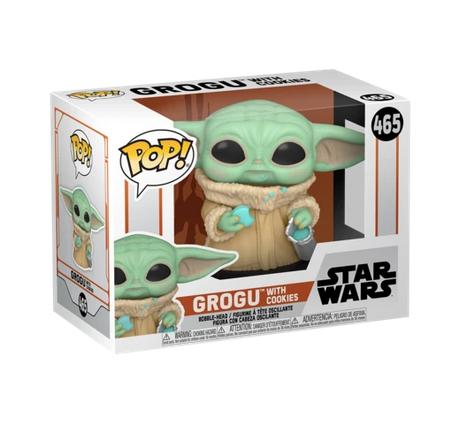 Star Wars Grogu With Cookies Manalorian - Funko Pop 465