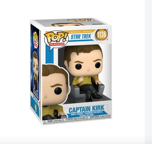 Star Trek - Captain Kirk - Funko Pop 1136