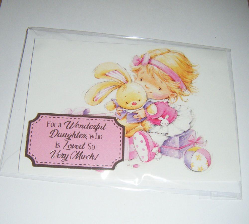 Daughter Birthday - Greeting Card Blank Inside