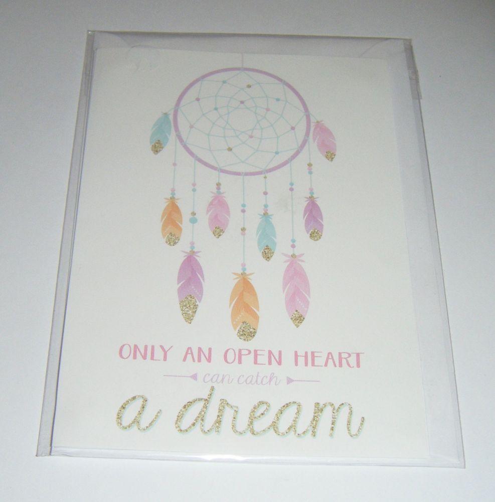 Dreamcatcher - Greeting Card Blank Inside