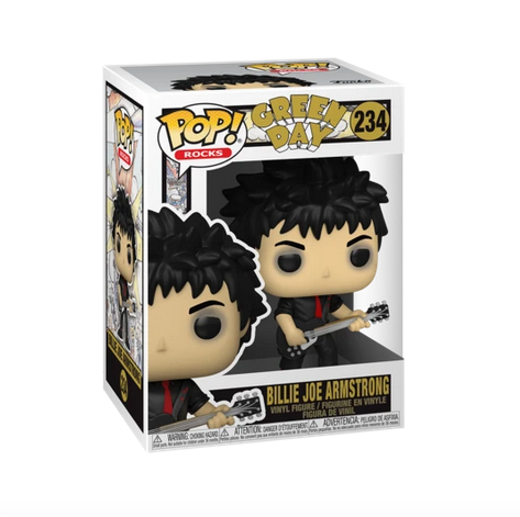 Green Day Billie Joe Armstrong Funko Pop Rocks 234