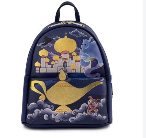 Disney Jasmine Castle Loungefly Mini Backpack Bag