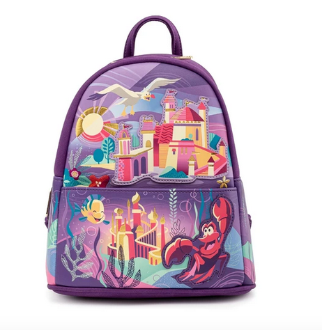 Ariel Castle Collection Loungefly Mini Backpack Bag