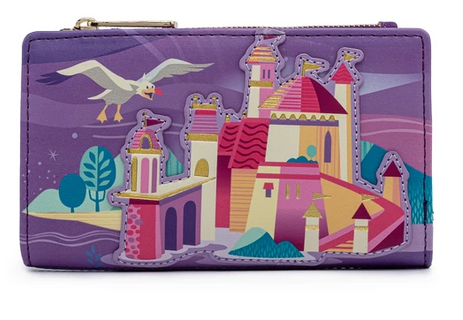 Ariel Castle Collection Loungefly Purse Wallet