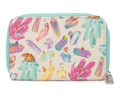 Disney Crystal Sidekicks Loungefly Purse Wallet