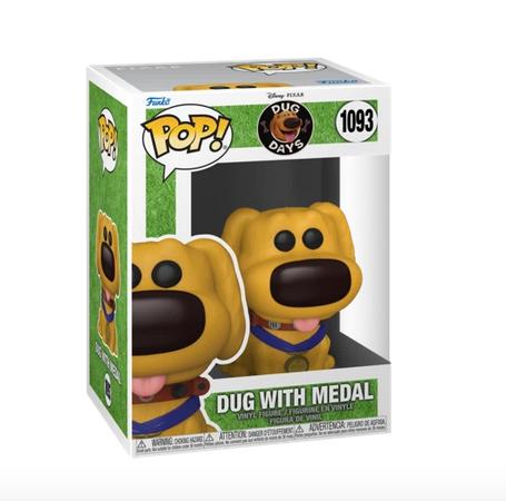 Dug Days - Hero Dug With Medal Disney - Funko Pop 1093