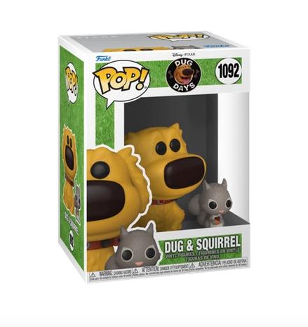 Dug Days - Dug With Squirrel Disney - Funko Pop 1092