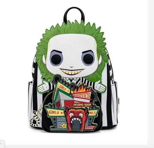 Beetlejuice Dante's Inferno - Loungefly Mini Backpack
