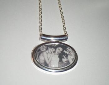 Keepsake Custom Made Personalised Photo Picture Pendant Necklace