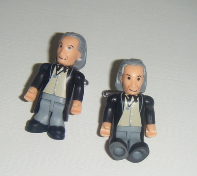 William Hartnell 1st Dr who  -  Micro figure Cufflinks