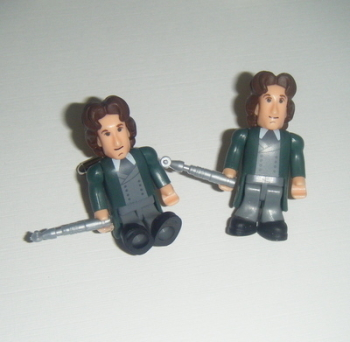 Paul McGann 8th Dr Who  -  Micro Figure Cufflinks