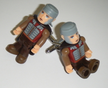 Rory Centurian Dr who  -  Micro figure Cufflinks