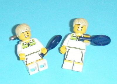 Tennis player  -  Micro figure Cufflinks