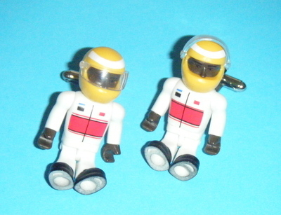 Racing Driver  -  Micro figure Cufflinks