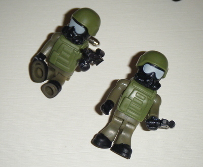 Army Soldier  -  Micro figure Cufflinks