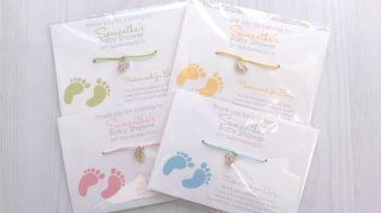 Baby Feet Wishing Bracelets