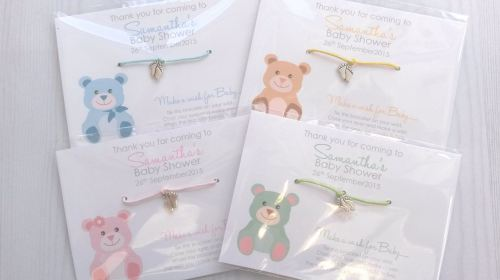 Teddy Bear Wishing Bracelets