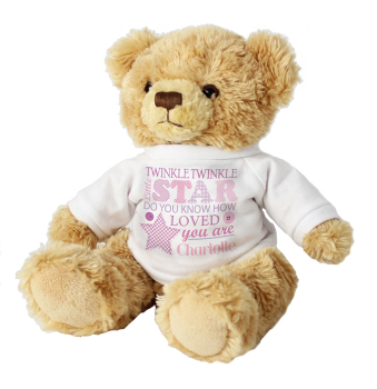 Twinkle Girl's Teddy Bear