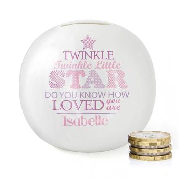 Twinkle Girl's Moneybox