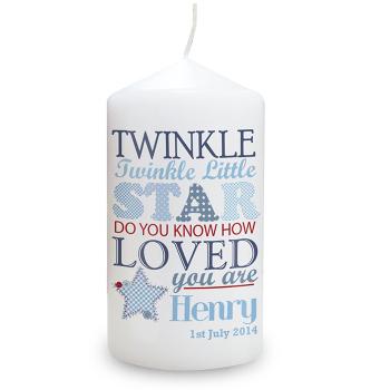 Twinkle Boy's Candle