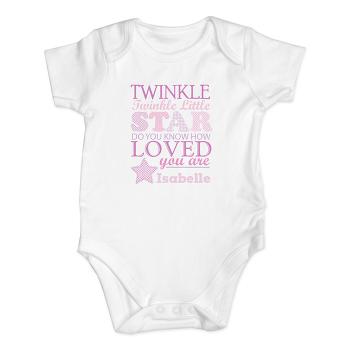 Twinkle Girl's Baby Vest