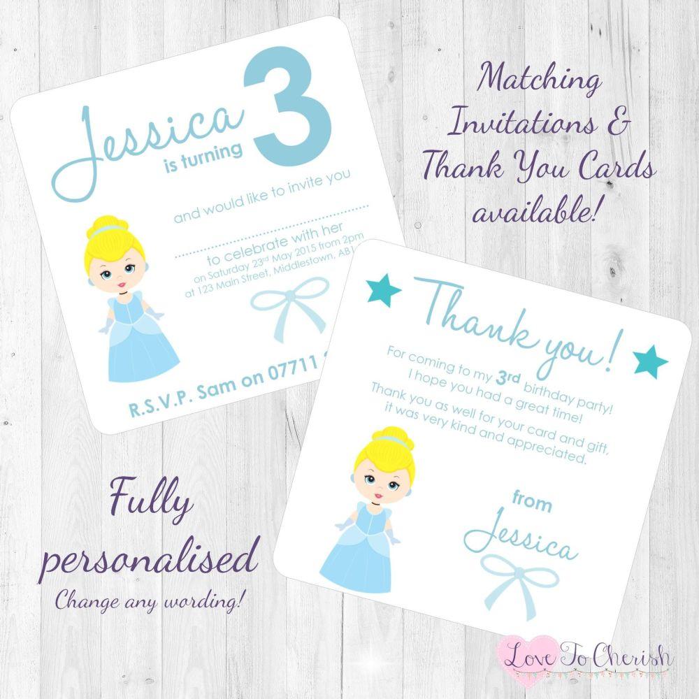 Cinderella Invites