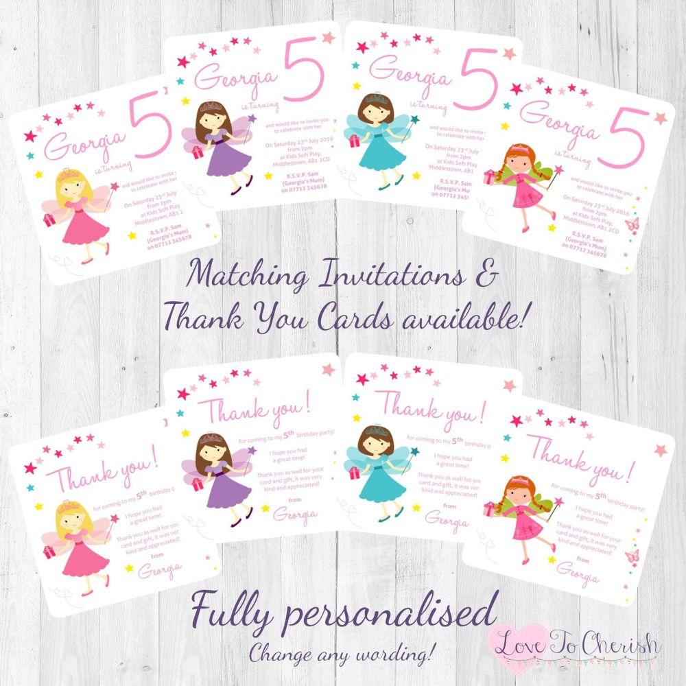 Fairy Princess Invites