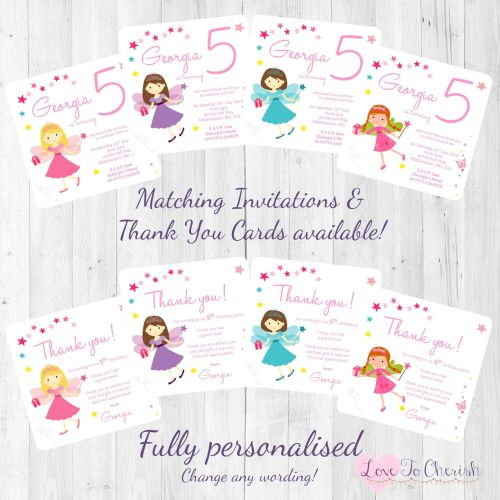 Fairy Princess Invites