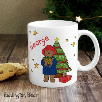 Paddington Bear Christmas Mug