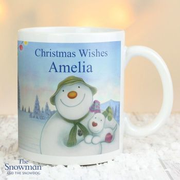 The Snowman and The Snowdog Christmas Mug