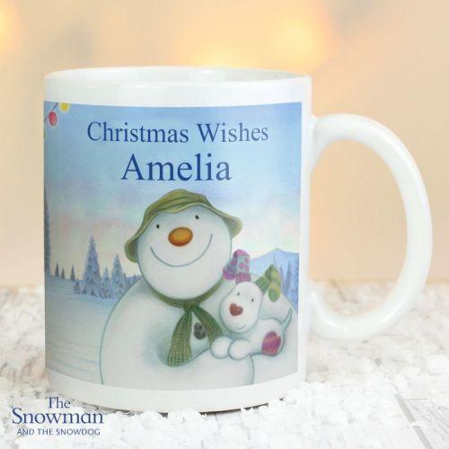 The Snowman and The Snowdog Christmas Mug