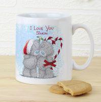Me To You Christmas Couple Mug
