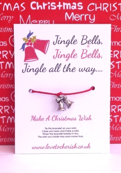 Jingle Bellls Wish Bracelet