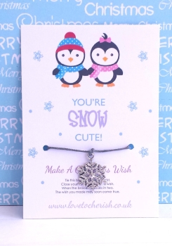 You're Snow Cute! Wish Bracelet