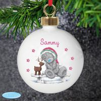 Me To You Reindeer Ceramic Bauble
