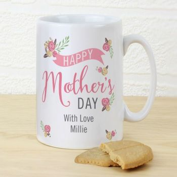 Floral Bouquet Mother's Day Slim Mug
