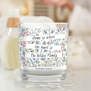 Botanical Scented Jar Candle
