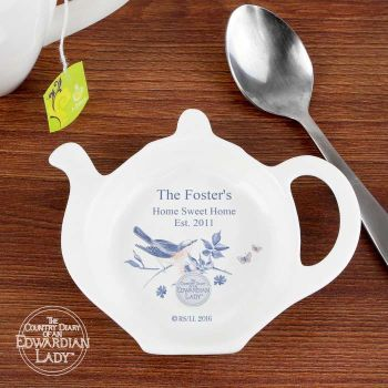 Country Diary Blue Blossom Tea Bag Rest