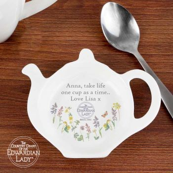 Country Diary Wild Flowers Tea Bag Rest