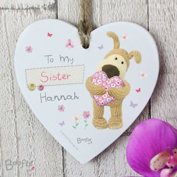 Boofle Wooden Heart Decoration