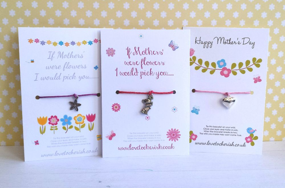 Mother's Day Wish Bracelets
