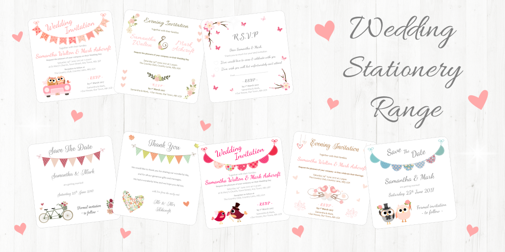 Wedding Stationery Range