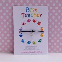 Handprint Circle Wish/Friendship Bracelet